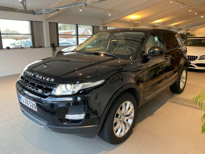 Land Rover Range Rover Evoque 2,2 TD4 Pure aut. 5d, Sort