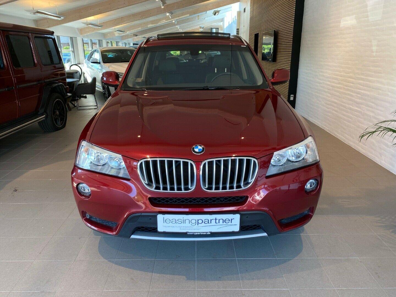 BMW X3 3,0 xDrive30d aut. 5d, Rødmetal