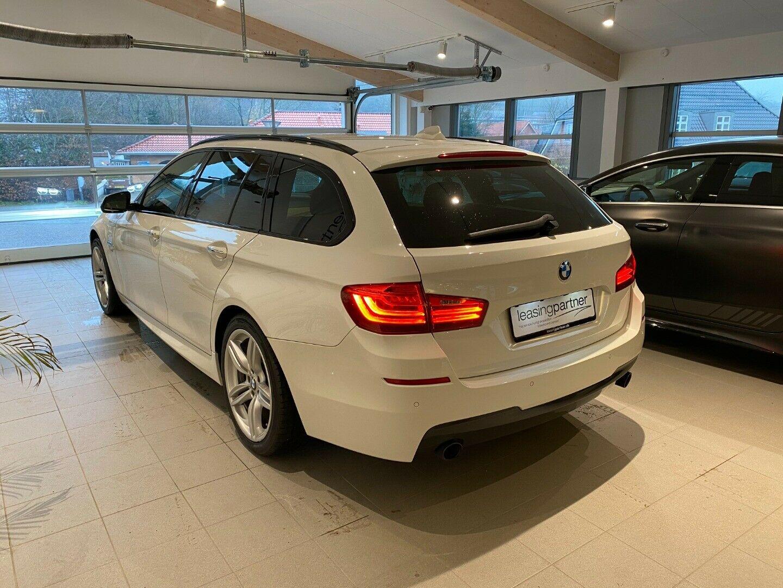 BMW 535d 3,0 Touring xDrive aut. 5d, Hvid