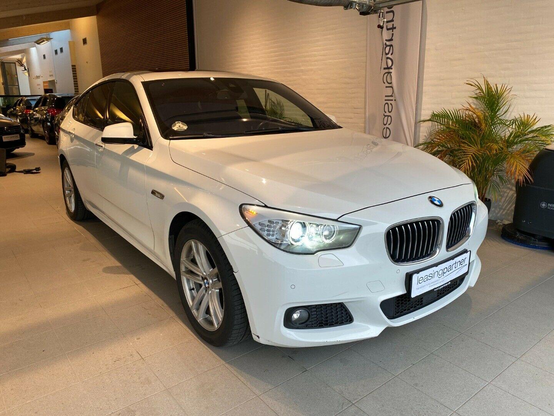 BMW 530d 3,0 Gran Turismo xDrive aut. 5d, Hvid