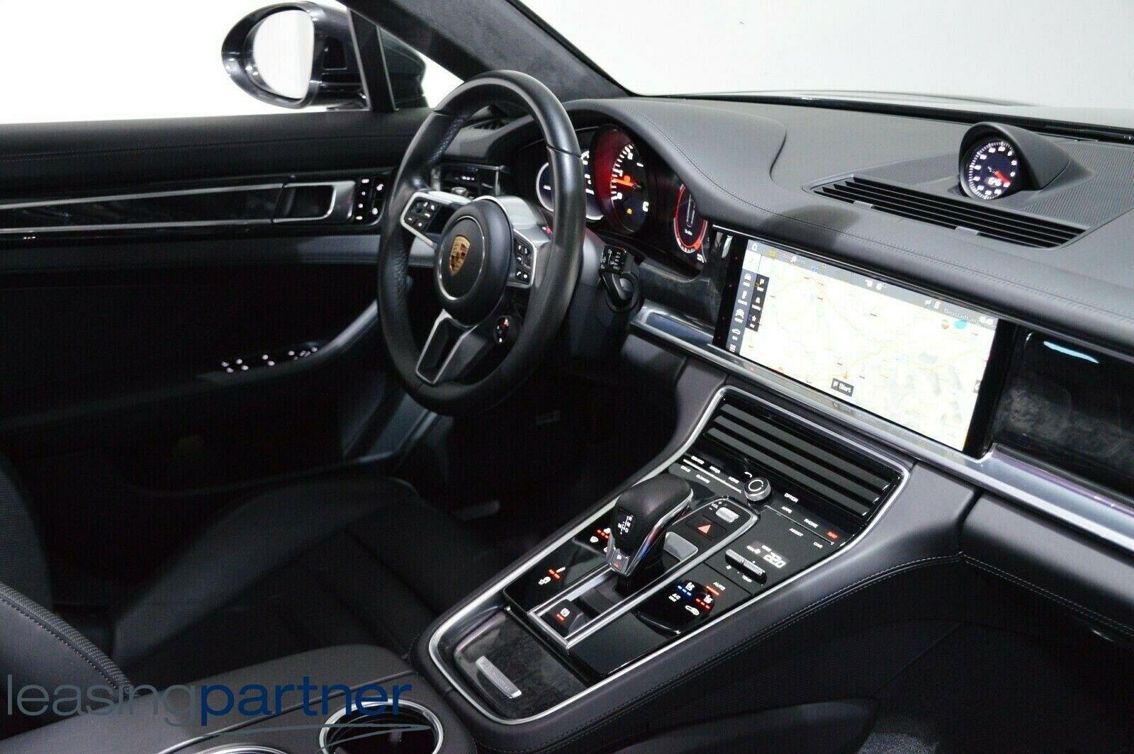 Porsche Panamera 4S 2,9 PDK 5d, Sort