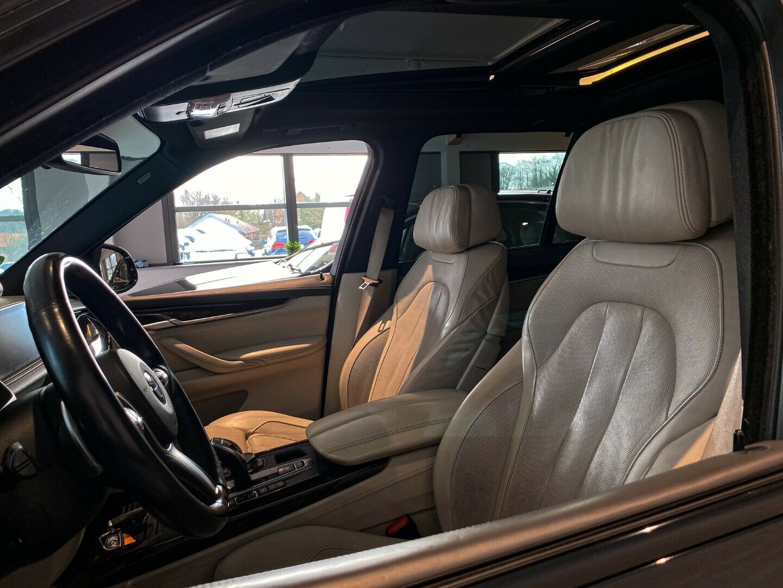 BMW X5 3,0 xDrive40d aut. 5d, Sort