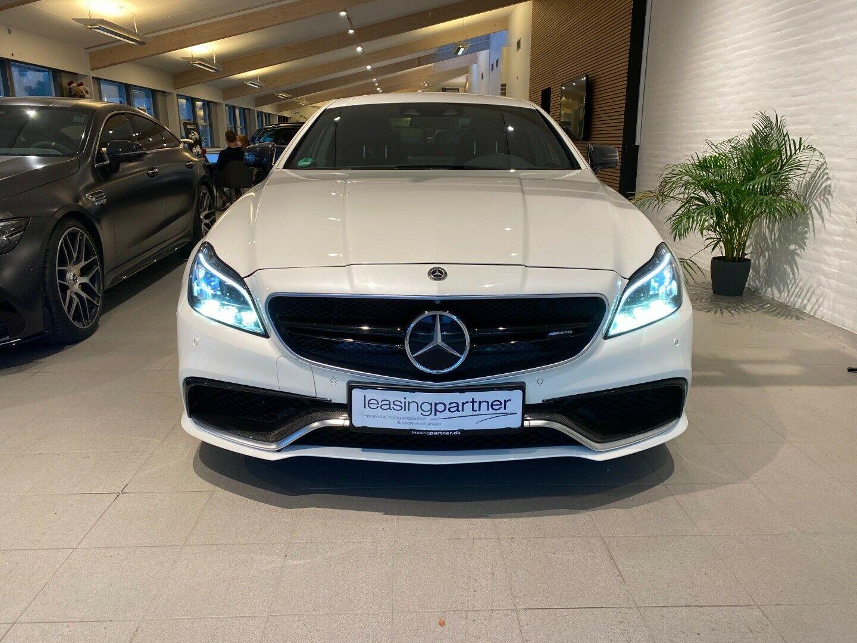 Mercedes CLS63 5,5 AMG S aut. 4Matic 4d, Hvid
