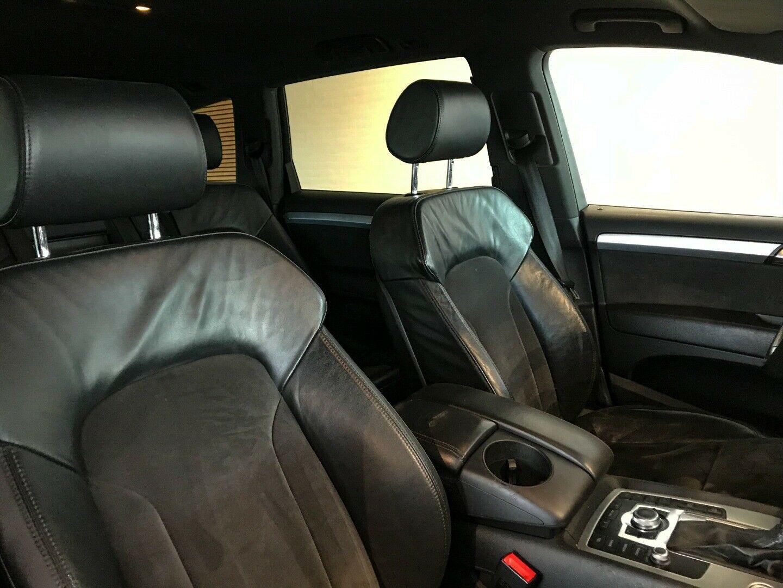 Audi Q7 4,2 TDi quattro Tiptr. 7prs 5d, Sort