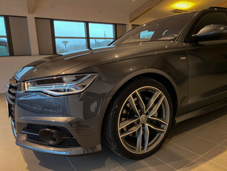Audi A6 3,0 TDi 272 S-line Avant quat S-tr 5d, Gråmetal
