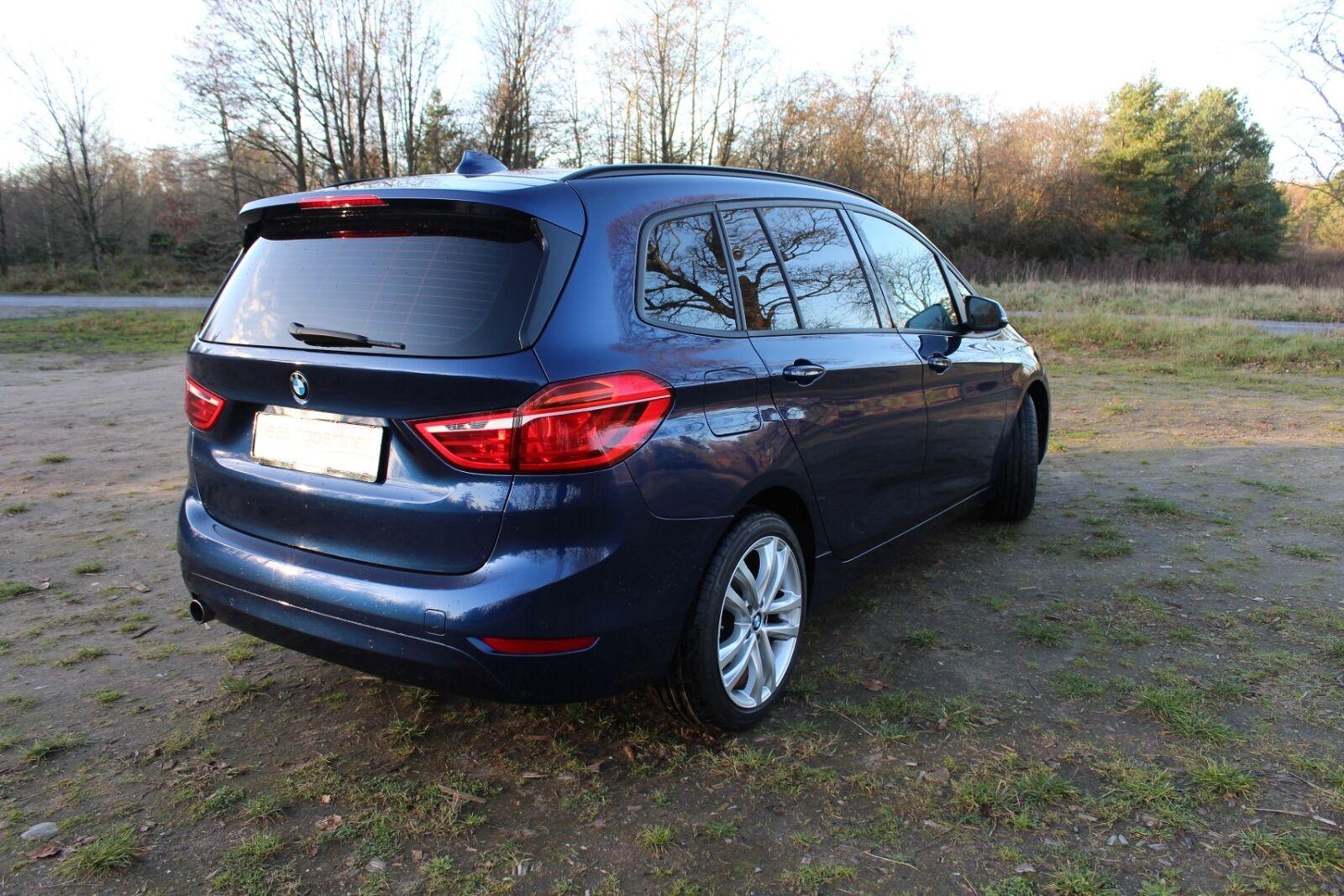 BMW 218d 2,0 Gran Tourer Advantage aut. 5d, Blåmetal