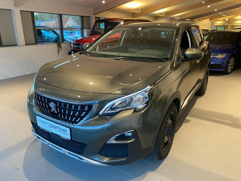 Peugeot 3008 1,6 BlueHDi 120 Allure 5d, Grønmetal