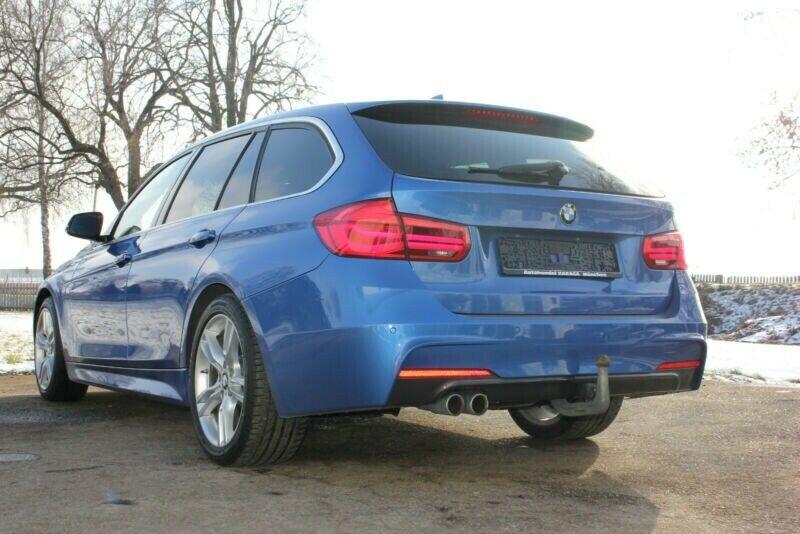 BMW 320d 2,0 Touring M-Sport aut. 5d, Blå