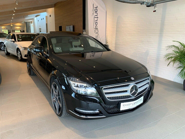 Mercedes CLS350 3,0 CDi aut. BE 4d, Sortmetal