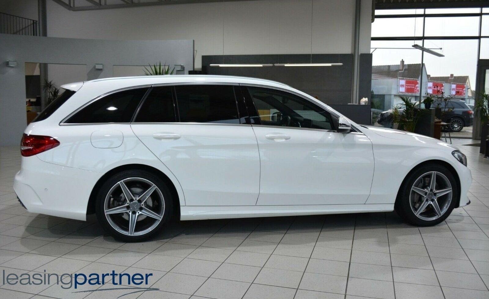 Mercedes C250 d 2,2 AMG Line stc. aut. 5d, Hvid