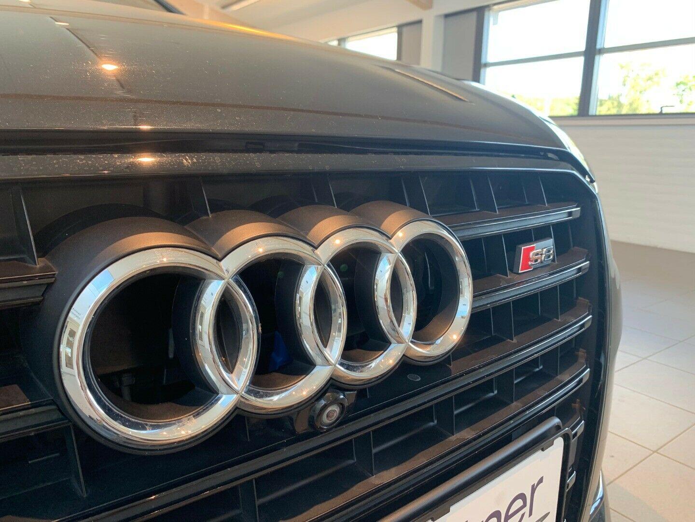 Audi S8 4,0 TFSi Plus quattro Tiptr. 4d, Sort