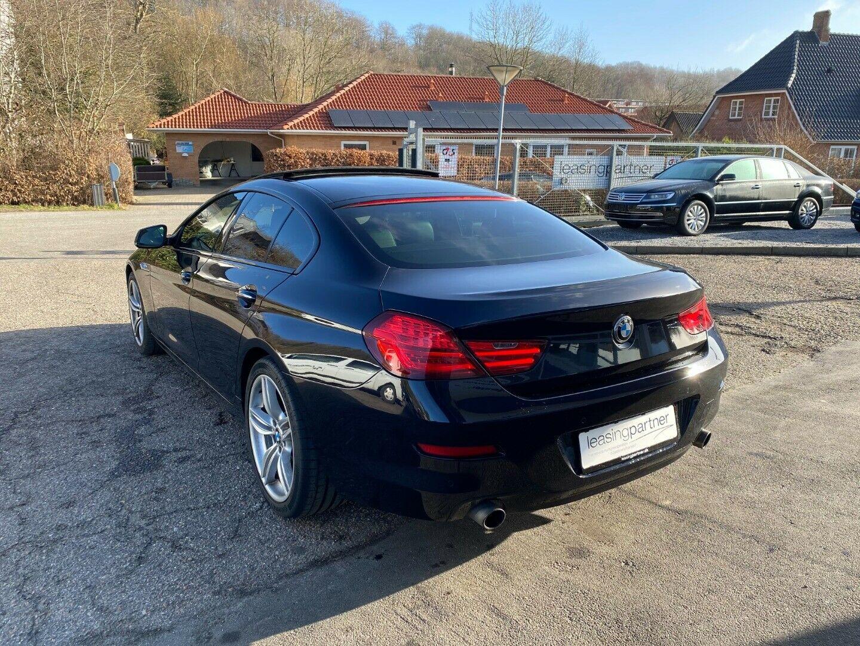 BMW 640d 3,0 Gran Coupé aut. 4d, Mørkblå