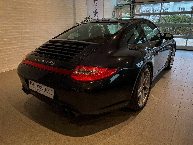 Porsche 911 Carrera 4S 3,8 Coupé PDK 2d, Sort