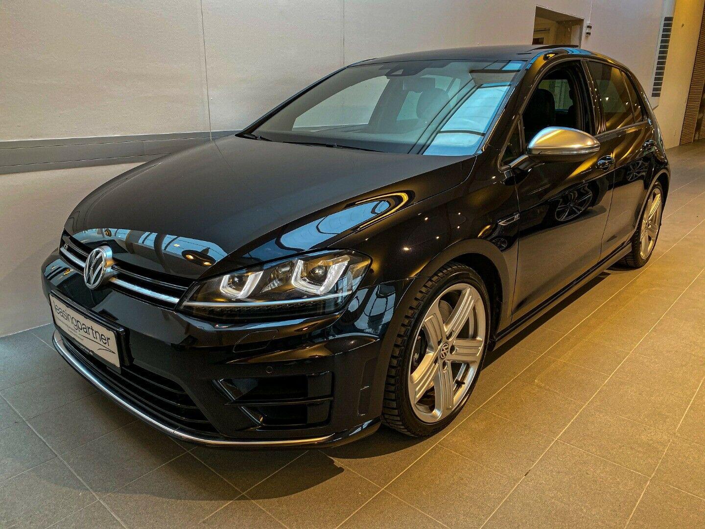 VW Golf VII 2,0 R DSG 4M BMT 5d, Sortmetal