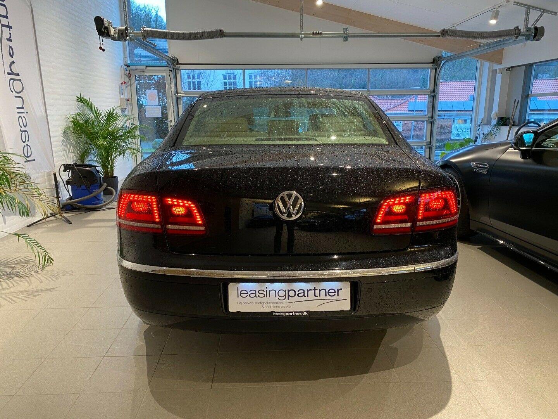 VW Phaeton 3,0 V6 TDi Tiptr 4M 4d, Sort